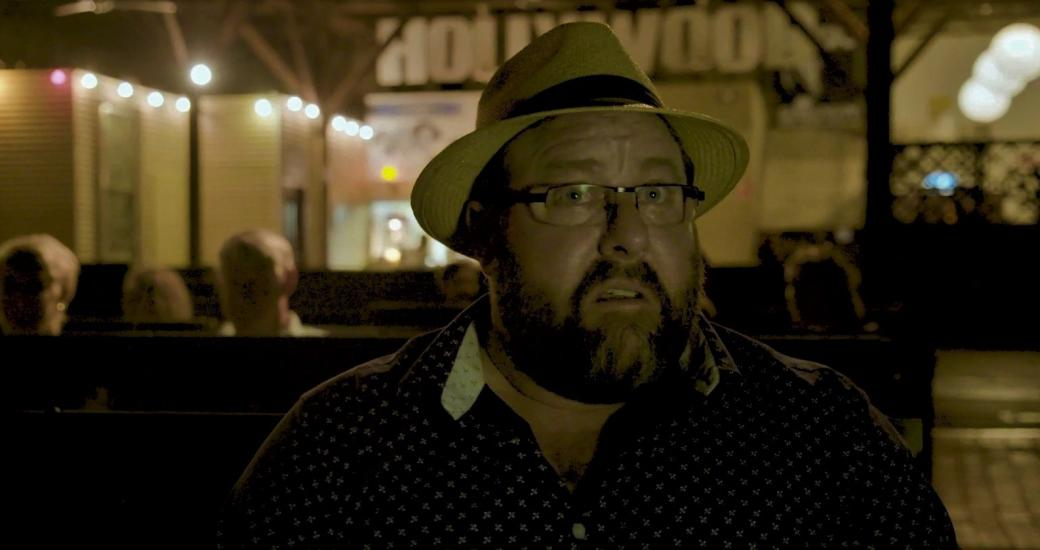 Shane Jacobson at Sun Pictures - Broome Time