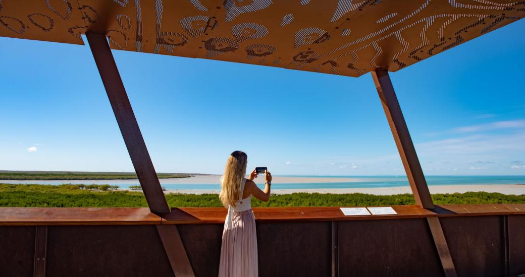 Roebuck Bay Lookout, Chinatown - Abby Murray