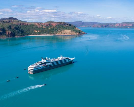 Travel on board one of PONANT's luxury small ships
