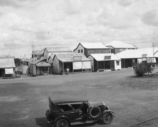 Carnarvon St in 1935- Image from Broome Museum