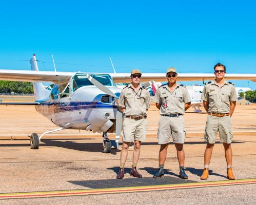 Fly Broome, Pilots