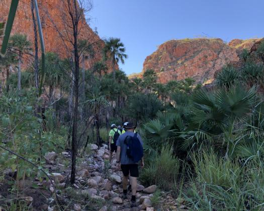 Walking Emma Gorge El Questro - Best Of The Kimberley