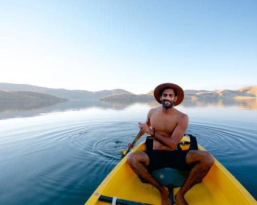 Canoe Hire with Lake Argyle Cruises