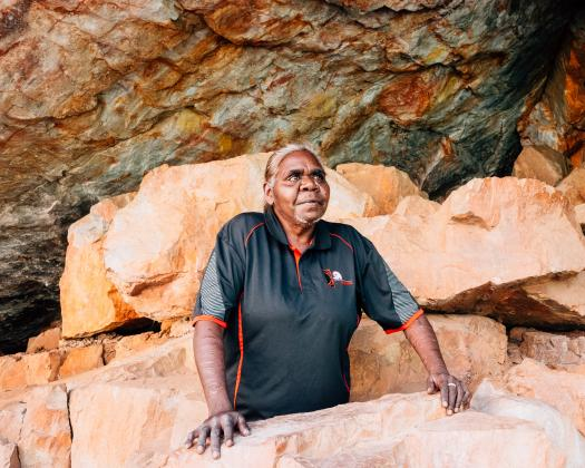 The Garrangaddim Rock Art Experience with Jilinya Adventures. Image: Jilinya Adventures