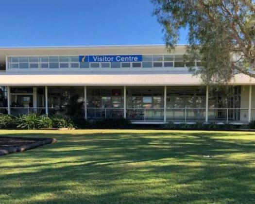 Exterior of Broome Visitor Centre. Image: Broome Visitor Centre