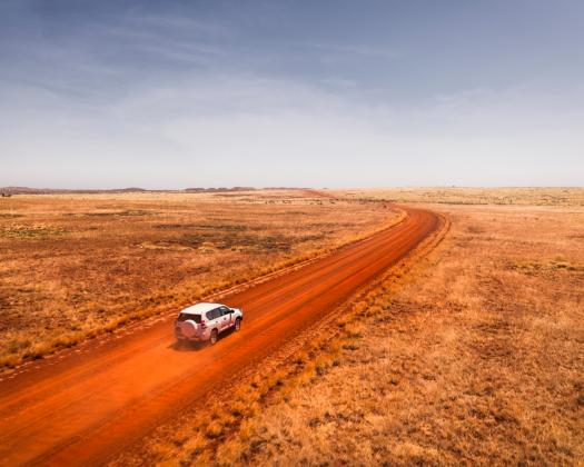 4WD track in Millstream-Chichester NP. Image: City of Karratha