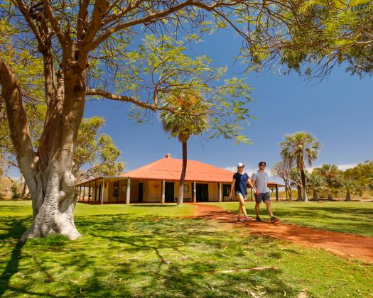 Millstream Homestead, Millstream-Chichester NP. Image: City of Karratha