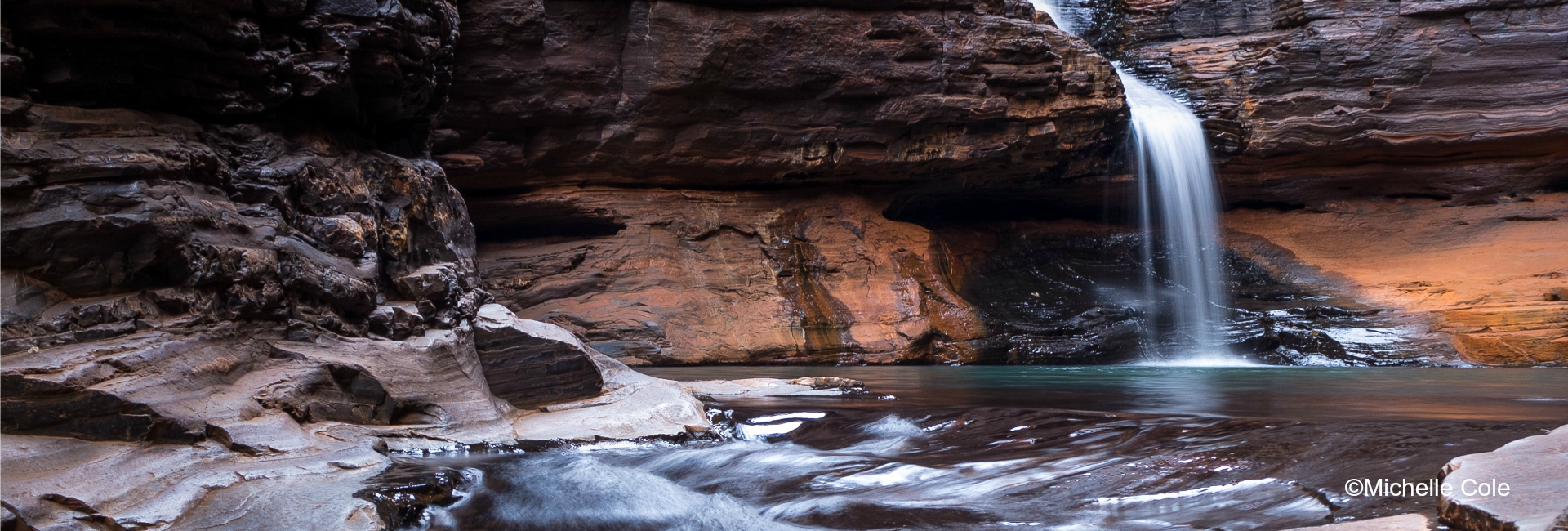 Regans Pool, Karijini National Park, the Pilbara - image by Michelle Coleini