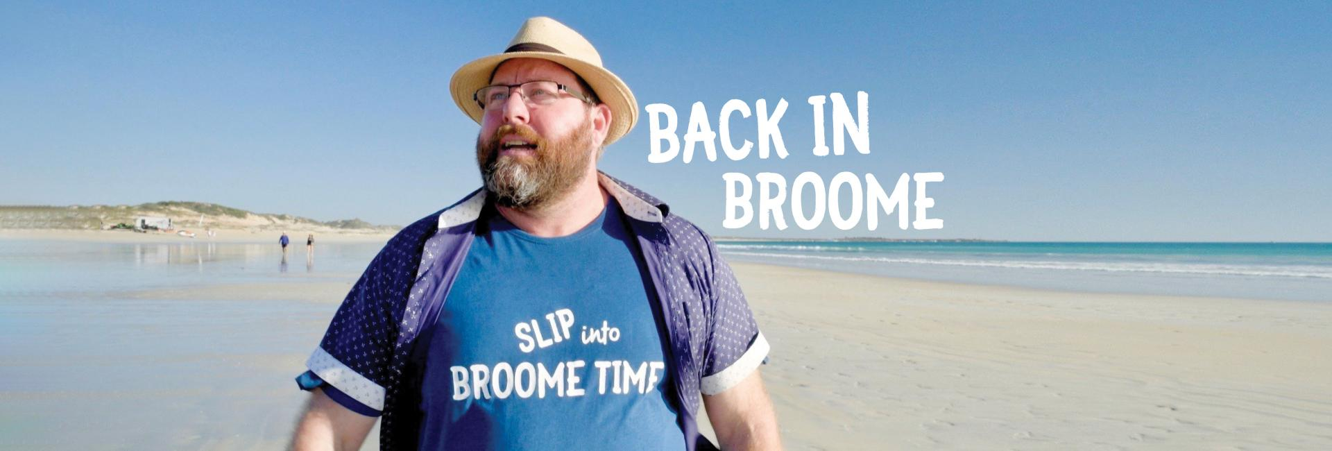 Shane Jacobson on Cable Beach