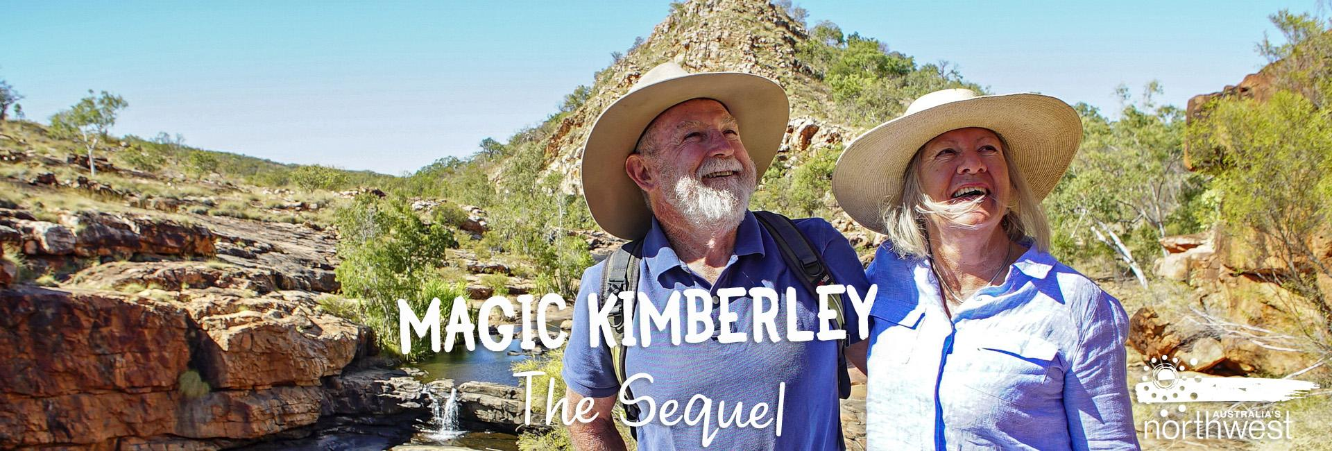 Magic Kimberley: The Sequel - Denise & Michael at Bell Gorge, in the Kimberley region of Western Australia