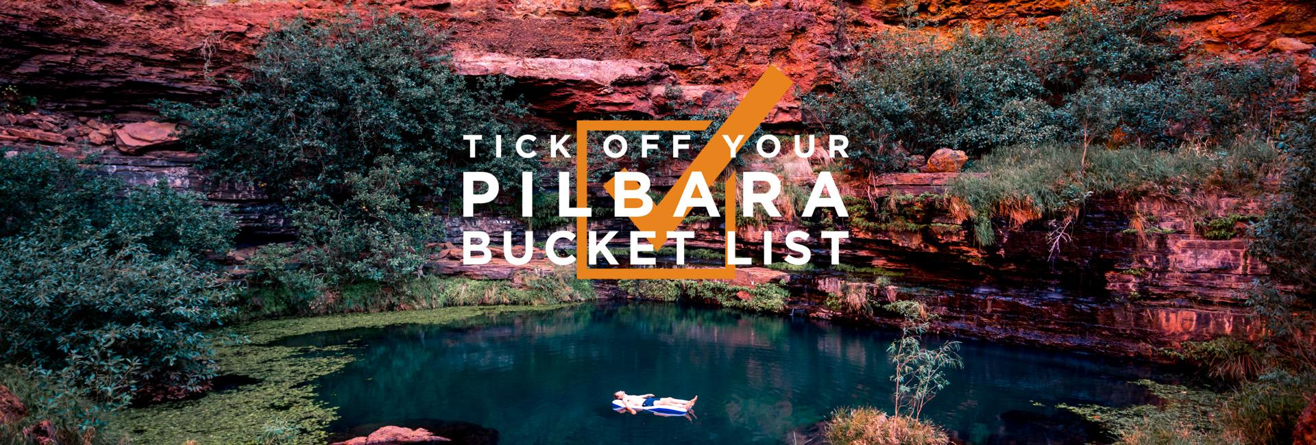 Tick off your Pilbara Bucket List - Millstream Chichester National Park