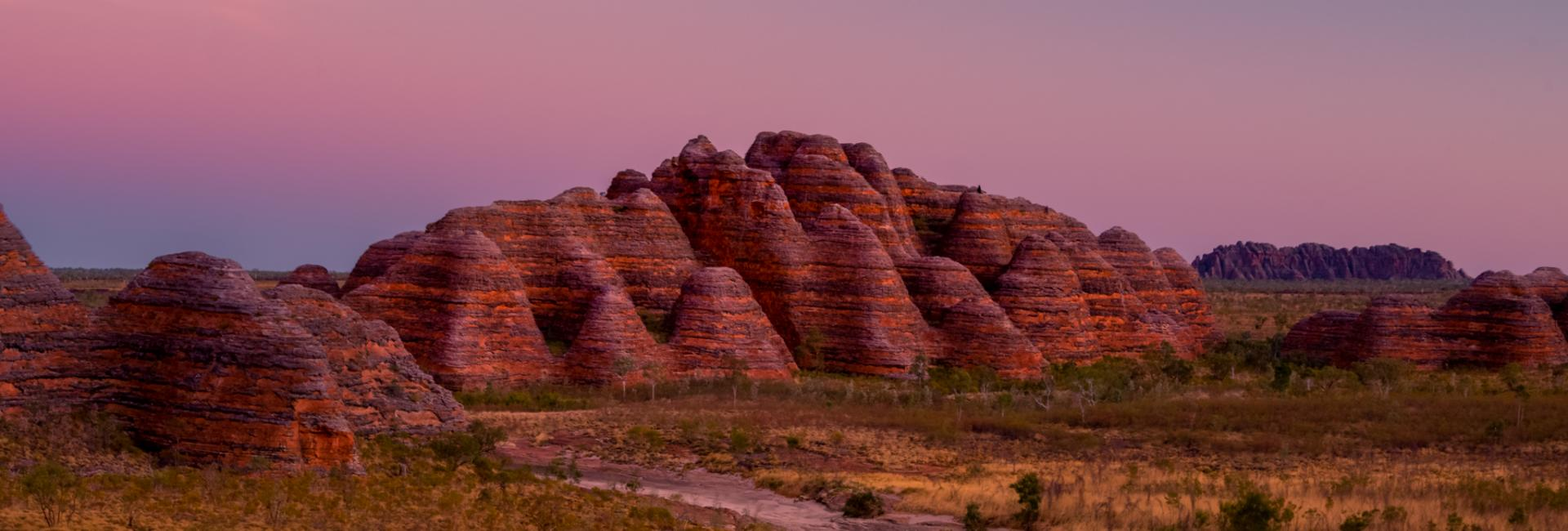 Punululu National Park (the Bungle Bungle) at sunset. Image: CJ Maddock/Australia's North West