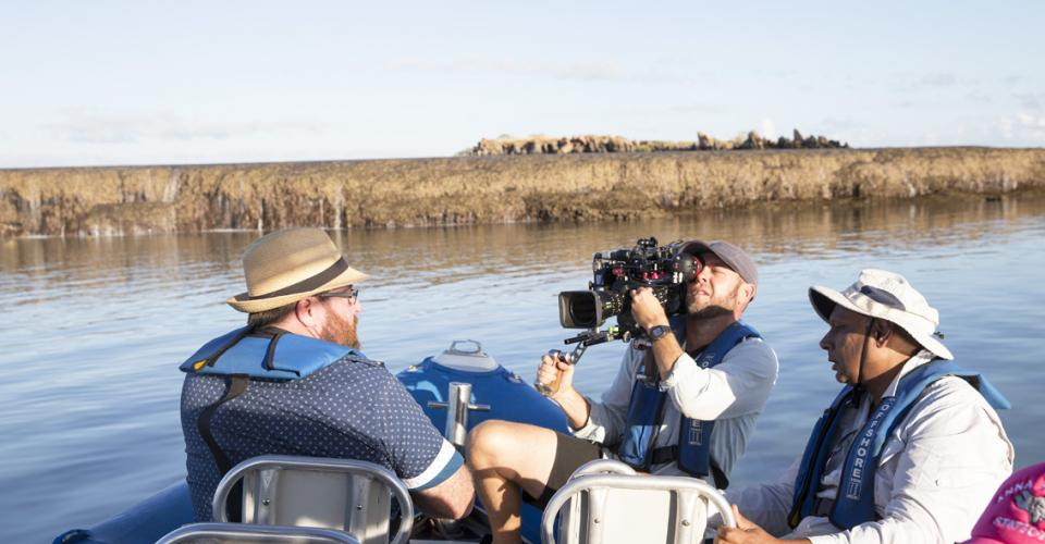 Shane Jacobson Broome Time 2 behind the scenes