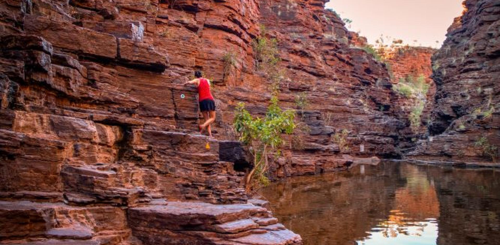 Karijini National Park, West Oz Active Adventure Tour