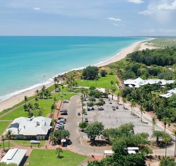Aerial image of Cable Beach, Broome