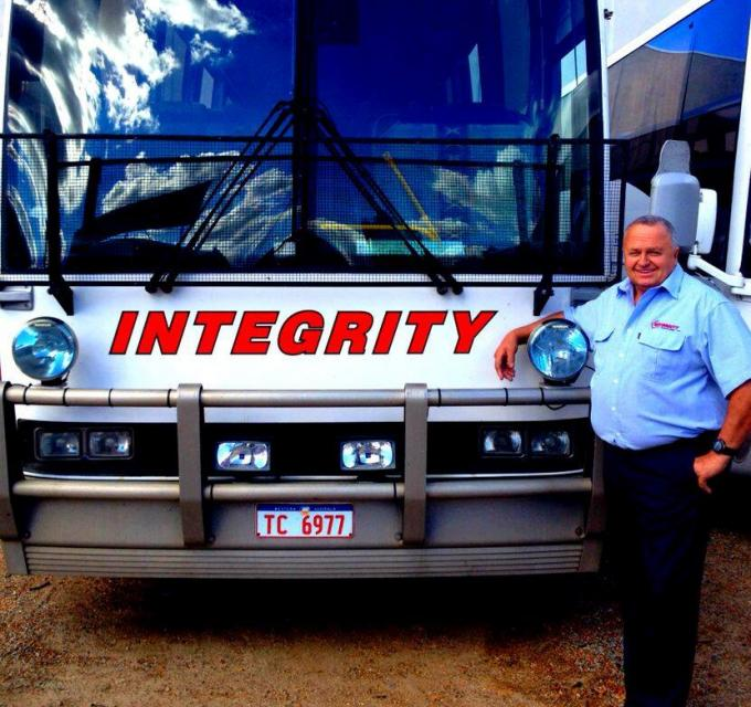 Integrity Coach Lines Bus & Driver