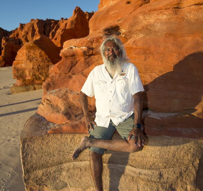 Brian Lee from Brian Lee's Tagalong Tours on the Dampier Peninsula near Broome, WA (Australia's North West)