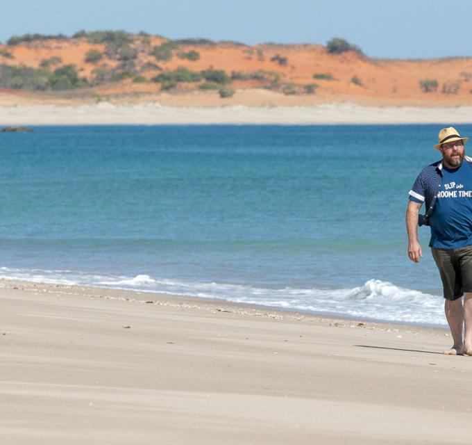 Shane Jacobson on the Dampier Peninsula