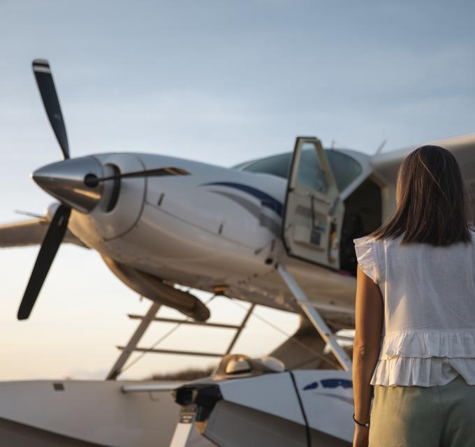 Floatplane adventures in the Kimberley. Horizontal Falls Seaplane Adventures. Image: Tourism Australia
