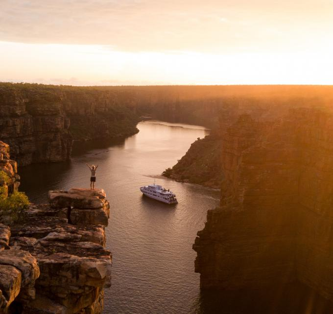 True North on the Kimberley Coast. Image: True North/Tourism Australia