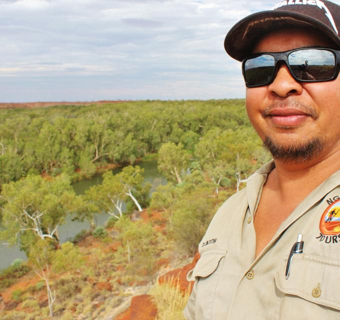 Clinton Walker. Image: Ngurranga Tours